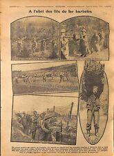 Bataille de la Somme Poilus Fils de Fer Barbelés Tranchées 1916 WWI