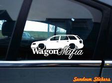 WAGON MAFIA sticker auto aufkleber - for Audi A4 (B6) Avant kombi