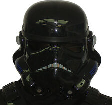 Black Stormtrooper Helmet - for Star Wars Shadowtrooper Costume Armour