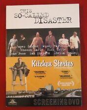 This So-Called Disaster Screening DVD 2004 Sean Penn, Sam Shepard