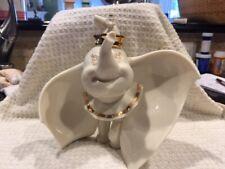 Mint Lenox Disney Showcase Collection Dumbo w/ Timothy Mouse Figurine No Box/Coa