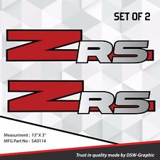 *NEW* ZR5 ZR-5 4x4 VINYL DECAL STICKER S-10 EXTREME Sonoma ZR-2 S10  SA0114
