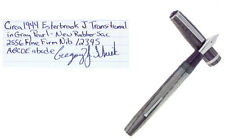C1944 ESTERBROOK TRANSITIONAL J MODEL GRAY MARBLED FOUNTAIN PEN RESTORED