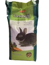 Padovan Coniglietti GrandMix 20 KG Mangime Per Conigli Nani Con Frutta e Ortagi