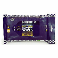 1x Dirteeze Rough Smooth Trade 40 Wipes Tough on Dirt Grime Oil Paint Sealant