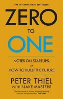 NEW Zero to One By Blake by Peter Thiel - Paperback - Free Shipping