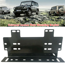 SUV Truck Front Bumper License Plate Mount Bracket Holder for Lamp/LED Light Bar