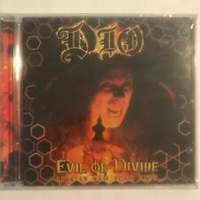 Dio evil or divine live in new york city cd 15 titres neuf sous blister