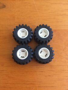Lego Wheel Part 6014 X4 White