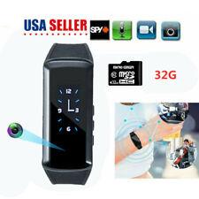 1080P Hidden Smart Bracelet Watch Camera Video HD DVR Recorder Wristband Cam
