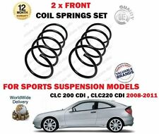 FOR MERCEDES CLC200 CLC220 CDI CL203 2008-2011 NEW 2 X FRONT COIL SPRINGS SET