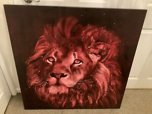 David Rees - Lion Call Limited Edition Print No.42/150