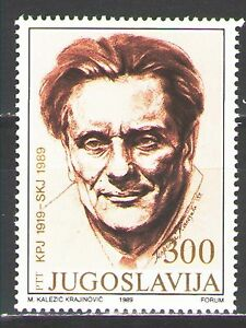 Yugoslavia1989 Sc1965  Mi2343  1v  mnh  President Tito