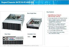 "Supermicro 4U 36 baie 3.5"" HDD Serveur, E5 8 Core CPU, 64Gb RAM, LSI 6Gb RAID"