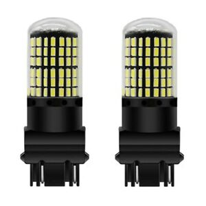 For Jeep Grand Cherokee 2012-2014 3157 White 144 LED Bright DRL Light Globes X 2