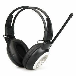 Radio Headphone Headset Stereo Radio Receiver Digital Earmuff Support Aux Input