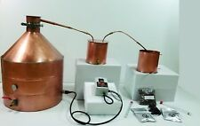 30 Gallon Copper Moonshine Whiskey COMPLETE DISTILLERS KIT by Vengeance Stills