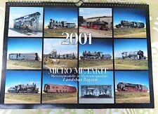 MICRO Metakit - Wand-Kalender 2001 - #A10374