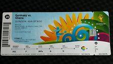 Eintrittskarte/Ticket #29 Deutschland - Ghana, WM2014, ungeknickt!