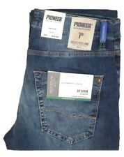 PIONEER ® MEGAFLEX Storm STRETCH Jeans Stone Blue Used 1628717 9870.365 - 2.Wahl