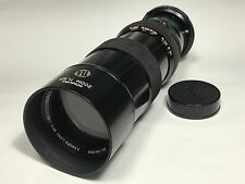 KOMURA ZOOM TL925 90mm-250mm 1:4.5 / minolta SR mount / fit minolta SRT101/from