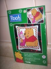 Leisure Arts Disney Pooh and Piglet Ornament Counted Cross Stitch Kit #113347