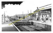 Halesworth Railway Station Photo. Darsham - Brampton. Saxmundham to Beccles. (1)