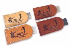 4 pc set Dan's Arkansas Soft, Hard, Translucent & Black Pocket Sharpening Stones
