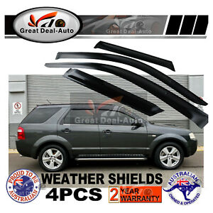 Weather Shields for Ford Territory SX SY Weathershields Window Visors 2004-2018