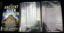 3 non-fiction ex-lib book lot ANCIENT ALIEN bigfoot sasquatch x files MYSTERY