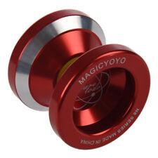 Magic Yoyo N8 Super Profi YoYo + String + Freier Beutel + Freier Handschuh (Rot)