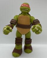 2013 TMNT Teenage Mutant Ninja Turtles Battle Shell Michelangelo Action Figure