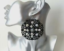 Rhinestone Drop/Dangle Costume Earrings