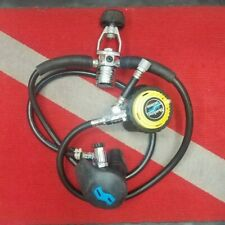 Used Scuba Regulator Sherwood Set 1st & 2nd Stages + Shadow Octo/Inflator