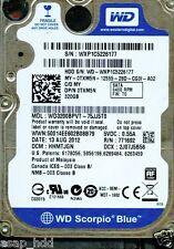WD SATA 320GB WD3200BPVT-75JJ5T0, HHMTJGN, ENMTJGN, SHMTJAK, SHMTJHK