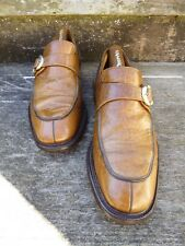 CHURCH VINTAGE MONK STRAP – BROWN / TAN - UK 8 – VERY GOOD CONDITION