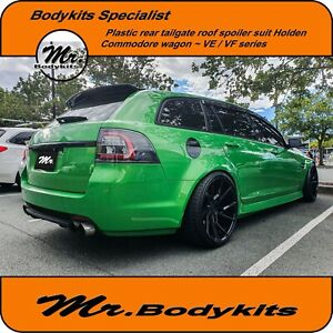 Mr Plastic Rear Boot/Roof Spoiler Wing For Holden Commodore VE VF 5 Door Wagon