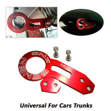 1X Universal Rear Tow Hook Ring Fit For CIVIC INTEGRA EG EK DC DC2 Pretty RED