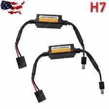 Pair H7 LED Headlight Canbus Error Free Decoder Anti Hyper Blink Flash