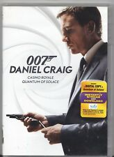 Movie DVD - The 007 DANIEL CRAIG Collection - PRE-OWNED - MGM Films