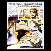 TAAF 2018 -  Death of Alfred Faure, 1925-1968 Science Birds - MNH