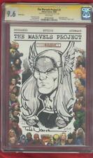 Thor 1 CGC SS 9.6 Todd Nauck Original art sketch Marvels Pro Variant Cover no 8