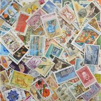 World Stamps. Mixed lot of approx. 1,000++ Off Paper Stamps Kiloware 65g 1000