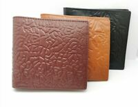 Genuine Leather Wallets for Men + 7 Card & Zipped Coin Pocket 2 Note Compartment