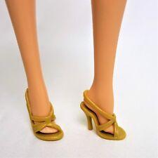 Scarpe Barbie Basics, modello MUSE Collezione Oro Sandali Con Tacco Alto Pantofole