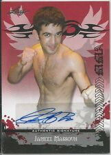 Jameel Massouh 2010 Leaf MMA Red Autographs Card # AUJM2 UFC