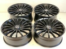 "20"" Wheels Rims Tires Fit S Class C E Amg Style Wheels Mercedes 5X112 Black Sati"