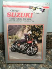 CLYMER Repair Manual M364 for Suzuki GS650 Twins 1981-1983