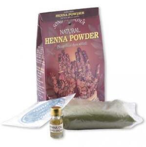 Natural Henna Powder Kit 100gr - Song Of India