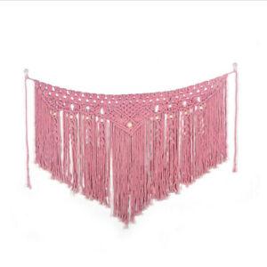 Macrame Wall Hanging Handwoven Bohemian Cotton Boho Tapestry Wedding Home Decor